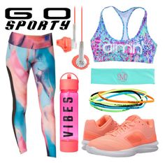 Go Sporty! by minchu on Polyvore featuring polyvore fashion style Onzie NIKE Pure Lime Athleta clothing