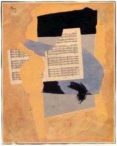 Robert Motherwell, collage