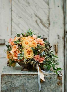 Rustic Chic Wedding Inspiration flowers