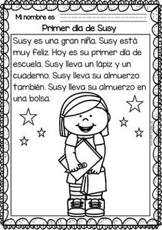 Easy-Reading-for-Reading-Comprehension-in-Spanish-Free-Set-2053610 Teaching Resources - TeachersPayTeachers.com