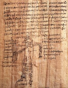 """The Greek Magical Papyri (Latin Papyri Graecae Magicae, abbreviated PGM) is the name given by scholars to a body of papyri from Graeco-Roman Egypt, which each contain a number of magical spells, formulae, hymns and rituals. The materials in the papyri date from the 2nd century BC to the 5th century AD. The manuscripts came to light through the antiquities trade, from the 18th century onwards. One of the best known of these texts is the so-called Mithras Liturgy.""..Betz, Hans Deiter. The…"