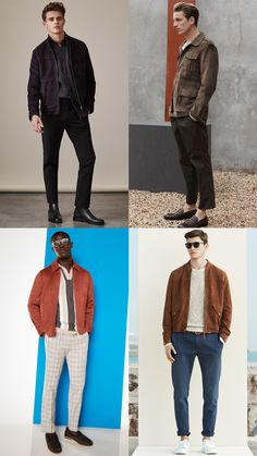 Each of these cool jackets are timeless, stylish and can be worn year-round - making them excellent wardrobe investments. Swedish Recipes, Mexican Food Recipes, Cool Jackets For Men, Healthy Foods To Eat, Healthy Recipes, Under 300 Calories, Healthcare Quotes, Suede Jacket, Leather Blazer