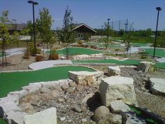 backyard mini golf course