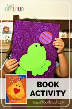 Read & Do: My Heart is Like a Zoo. Here's an easy preschool craft that goes along with this colorful book.