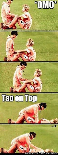 But Tao~! I think you are on the bottom rater then on the top of Kris~!