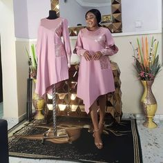 2019 Breathtaking and Gorgeous Asoebi Styles - All About By Diyanu Nigerian Lace Styles Dress, African Lace Dresses, Ankara Dress Styles, African Dresses For Women, African Attire, African Fashion Ankara, Latest African Fashion Dresses, African Print Fashion, African Traditional Dresses