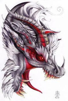 White Fatalis by *Badhead-Gadroon on deviantART