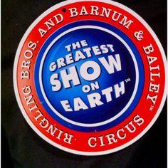 classic slogan: Greatest Show on Earth