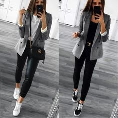 casual outfits for work \ casual outfits . casual outfits for winter . casual outfits for work . casual outfits for women . casual outfits for school . casual outfits for winter comfy Blazer Outfits Casual, Business Casual Outfits For Women, Smart Casual Outfit, Professional Outfits, Casual Winter Outfits, Work Casual, Fall Outfits, Business Attire, White Outfits