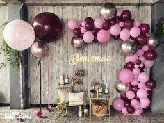 Giant Balloon, Balloons, Outside Bars, Bar Cart Decor, Happy Birthday, Birthday Parties, Bar Furniture, I Party, Birthdays