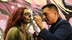 C2E2 Chicago Comic Con and Entertainment 2016 Body Paint by Diego Gonzalez