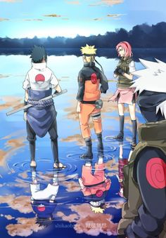 They all developed so much, didnt they kakashi?
