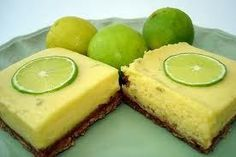 Points Plus-Lime Bars Recipe