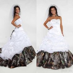 Sweetheart Satin Camo A Line Wedding Dresses 2016 Attractive Ruffles Chapel Train Bridal Gowns Lace Up Ribbon Plus Size Wedding Dress A-Line Wedding Dresses Sweetheart Wedding Dress Lace Up Wedding Dresses Online with $169.15/Piece on Olesa's Store | DHgate.com