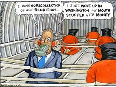 Steve Bell on Tony Blair and rendition. From 'The Guardian' UK