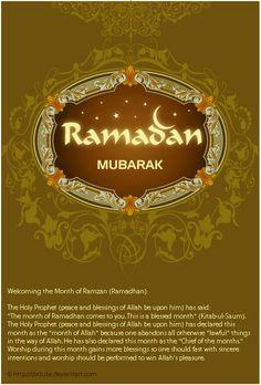 Ramadan Mubarak!!!