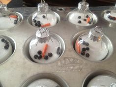 Easy Gift Idea! Melted Snowmen Ornaments