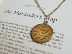 I solemnly swear that I am up to no good. - necklace (Harry Potter)