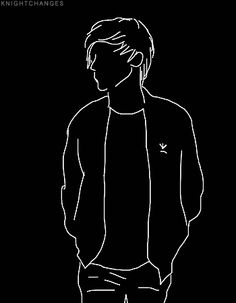 Trop beau ! 👏👏 Ps Wallpaper, Hacker Wallpaper, Black Background Wallpaper, Black Backgrounds, Arte One Direction, One Direction Drawings, One Direction Wallpaper, Cover Wattpad, Black Aesthetic Wallpaper