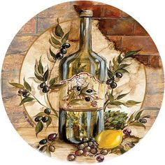 Thirstystone Occasions Drink Coasters, Olive Oil, Multicolor