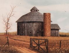 Beautiful round barn