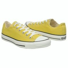 Warm Olive (Yellow Green) Chuck Taylor Converse  (Reviewer mention not bright yellow like the image suggests.)