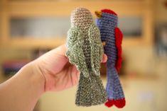 crochet bird 1... Free crochet pattern!!