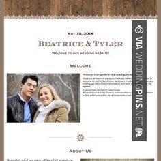 samira and maxwell wedding site  best free wedding websites