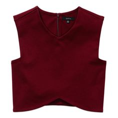 Designer Clothes, Shoes & Bags for Women Red Crop Top, Red Tank Tops, Cropped Tank Top, Crop Tank, Tank Shirt, Red Shirt, Saree Blouse Designs, Cute Tops, Cute Outfits