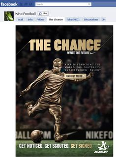 Nike Football facebook page