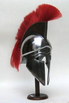 Corinthian Armor Helmet With Red Plume..Price $169.99