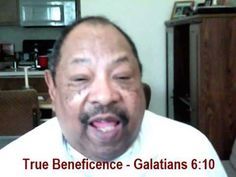 """SUNDAY NIGHT CELEBRATION  July 6, 2014  """"True Beneficence""""  """"As we have therefore opportunity, let us do good unto all men."""" Galatians 6:10"""