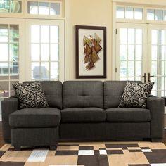 Cosco Bronson II Fabric Sofa with Chaise.
