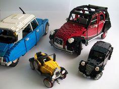 Lego Citroens