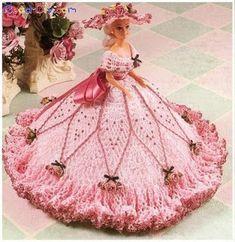 Marluce      Alexandre ( Crochê ): Roupas da Barbie