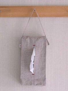 Natural Linen Tissue Cover