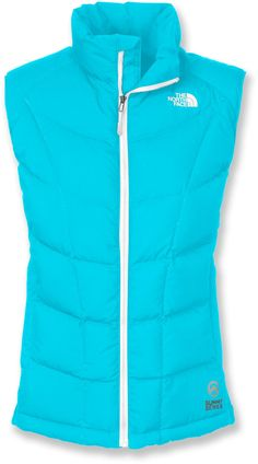 At REI Outlet: The North Face A-Back Hybrid Down Vest — Looks good and provides great warmth as the weather starts getting cooler.