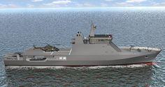 Resultado de imagem para Navios patrulha do futuro