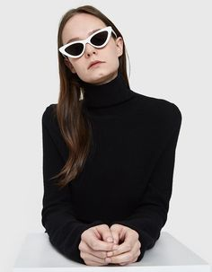 a716cd886c Adam Selman x Le Specs   The Last Lolita Sunglasses in White