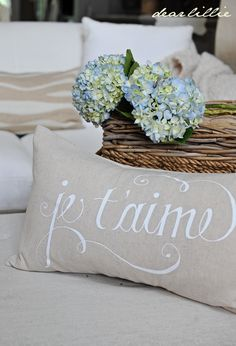 In Christ Alone Pillows by Dear Lillie