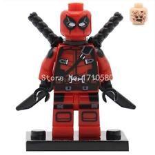 1pcs Deadpool Marvel Super Heroes Avengers Minifigures building Toys blocks lego Lego Deadpool, G Man, Building Toys, Avengers, Marvel, Superhero, Fictional Characters, The Avengers, Fantasy Characters