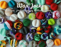 There have been attempts to imitate, though the original Wax Jacks™ can never be duplicated. Stabilizing dabbers since 2015.  How many times have you set down your dabbing accessory and gotten product all over your table, paperwork, or dab mat? Well, no more! After shopping around for an affordable dabber holder without any luck, I decided to make my own durable and affordable pieces. Lightweight, colorful, and secure, these pieces provide elevation and stability to hold your dabbing…