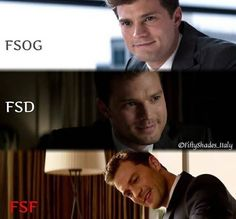 Christian through Fifty Shades  Trilogy ❤