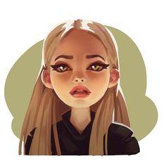 warm face, Natalia Tsy on ArtStation at https://www.artstation.com/artwork/warm-face