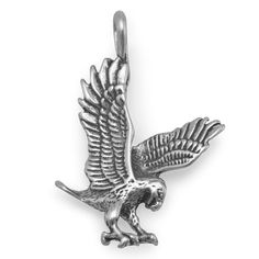 Solid 925 Sterling Silver Old Dominion University Extra Small Dangle Bead Charm Very Small Pendant Charm 6mm x 22mm