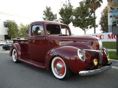 Want This 1941 ford in your Garage ? This is one Fancy 1941 Pickup Truck ! Lowered , nice color too. Old Ford Trucks, Old Pickup Trucks, Hot Rod Trucks, New Trucks, Trucks For Sale, Cool Trucks, Diesel Trucks, Lifted Trucks, Antique Trucks