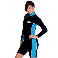 Sun Protection Stinger - Shortie, Long Sleeved - UPF 50+