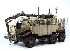 Buffalo 6X6 MPCV 1/35 Scale Model