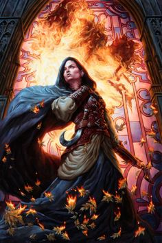 Defiance (MT:G Human Token) by ~Michael-C-Hayes - Unconquered?