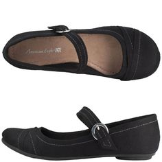 """Payless Shoesource Mary Jane's - $22; One review says: """"Very comfy...They look great dressed up...or casual with jeans."""""""
